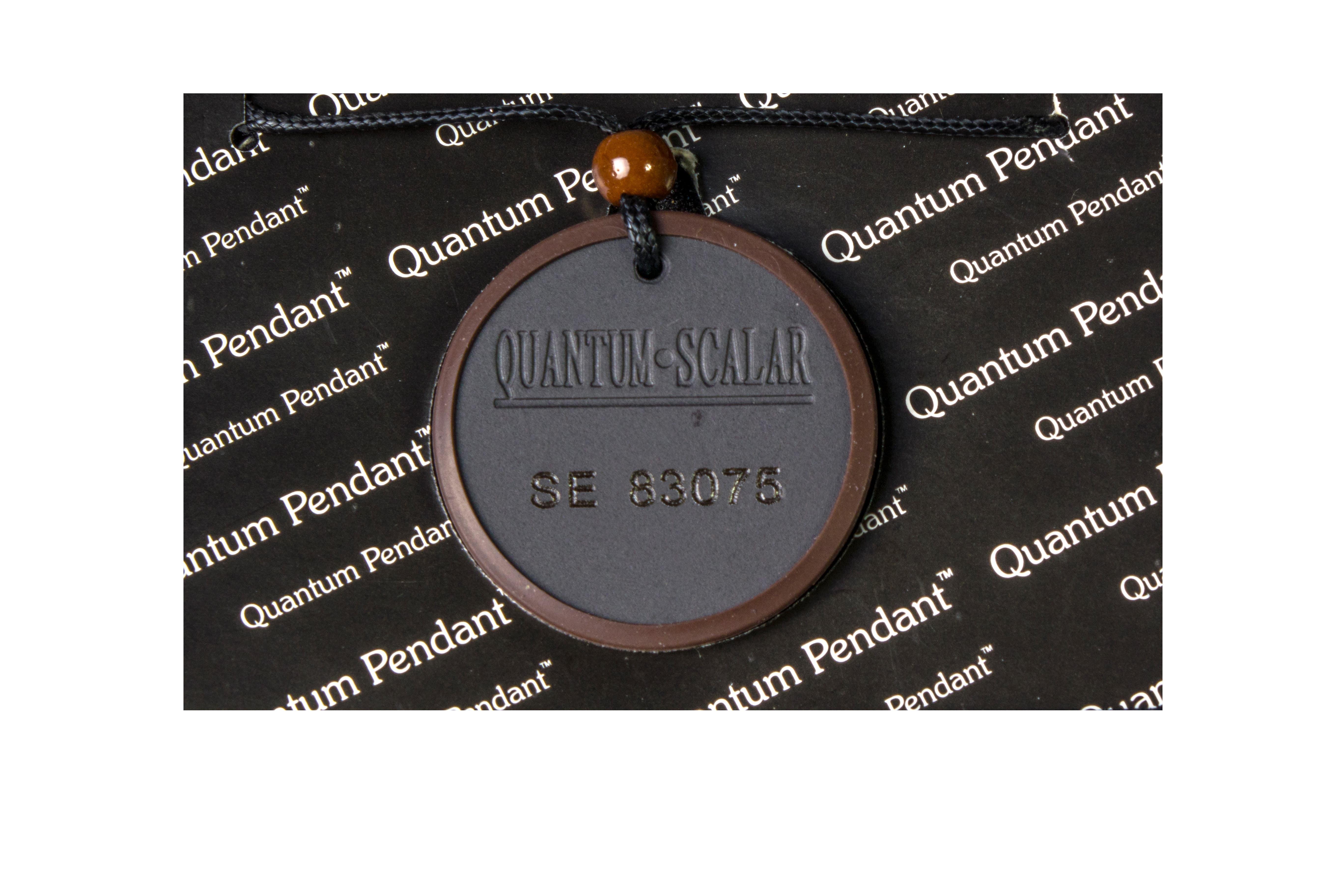 Original design quantum pendant scientific proof evidence original design quantum science pendant aloadofball Image collections