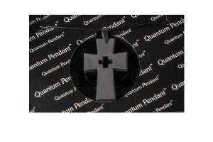 Quantum Cross Pendant