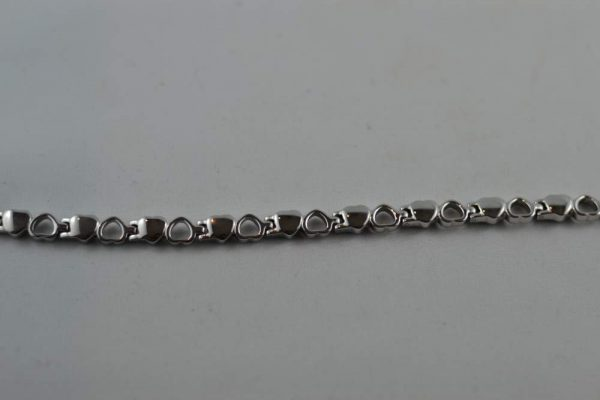 Germanium Heart Bracelet