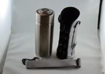 Silver Alkaline Water Bottle