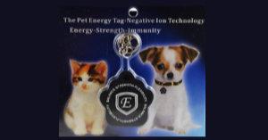 Quantum Scalar Energy Pet Tags